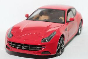 1:18 Ferrari FF (2011–2016) | rot | Hot Wheels Elite | Modellauto Sportwagen