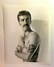 FREE SHIPPING! vintage 1990s 'gay prostitute' photo JOE THE LION