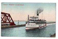 Niagara Navigation Co Steamer MODJESKA Lake Ontario Canada 1911 Valentine & Sons