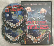 Secret Societies & The New World Order (DVD OOP R1 2013, 2-Disc Set)