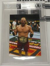 Randy Couture Signed 4x6 Photo BAS Beckett COA UFC Picture Autograph 28 44 49 68