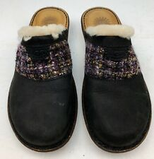 SAL Pair UGG Womens black Mules Slip On Shoes size 9