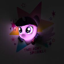 MY LITTLE PONY TWILIGHT SPARKLE STARS 3D WALL LIGHT NIGHT CHILDRENS COLOURFUL