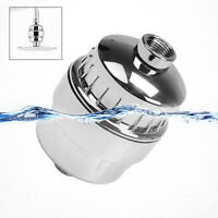 Stainless In Line Shower Filter Heavy Metal Chlorine Removal Water Purifier