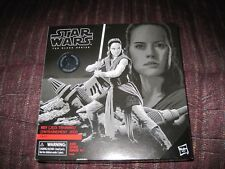 Star Wars The Black Series Rey (Jedi Training)-Toys R Us-New-Unopened