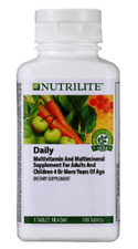 Nutrilite Daily Multivitamin Supplement Good Health 180 Tablets Amway