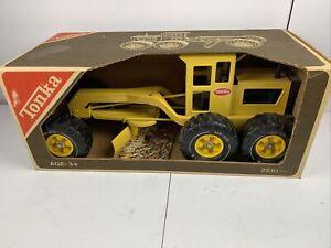 Vintage Tonka 2510 Road Grader in box