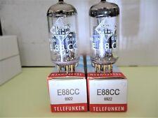 Telefunken E88CC 2 x Vorverstärkerröhren, Werte deutlich über 100% !