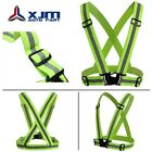 Adjustable Safety Security High Visibility Reflective Vest Jacket Night Running