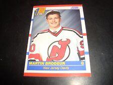 Martin Brodeur 1990-91 Score Rookie Hockey Card #439 New Jersey Devils NM/M