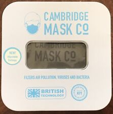 Cambridge Face Mask PRO N 99 Military Grade filters Large Churchill Washable