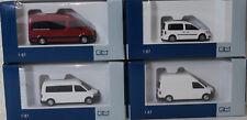 6 Rietze Kastenwagen Kombi VW T5 Caddy Crafter, 1:87, Los 106