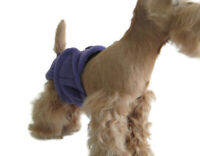 FEMALE girl fleece handcrafted dog diaper, all sizes and colors, PoochiePantz