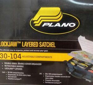 Plano Lockjaw Double Layer Plastic Fishing Tackle Box