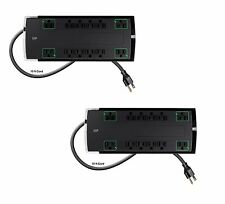 12 Outlet Slim Surge Protector 10ft Cord, 4230 Joules 15A Surge Protector