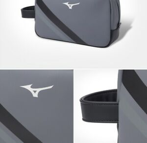 2021 New Mizuno Golf RB UMT Pouch Black, Gray Color