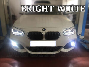 2x FOR BMW 1 SERIES F20 SUPER XENON WHITE 6000K LED Fog Light Bulbs CANBUS
