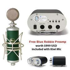 NEW BLUE KIWI Condenser Microphone PLUS Blue Robbie Microphone Preamp