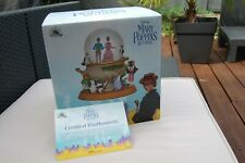snow globe musical collector MARY POPPINS edition limitée à 3300 ex