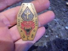 ULB medaille saint verhaegen 1962 étudiants saint Vé VUB student