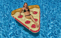 NEW Swimline 90646 Swimming Pool Inflatable Cherry Pie Slice Float Raft 6 feet