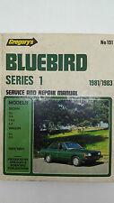 Gregorys SP No 191 Datsun Bluebird Series 1 1981-1983 Service and Repair Manual