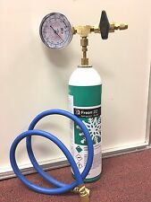 R22 R-22 Refrigerant 22, Recharge Kit, LARGE 35 oz. Can, Taper & Hose Kit C1
