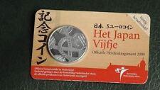 5 Euros - Pays-Bas Japon - 2009 COINCARD NEUF Nederland Netherlands
