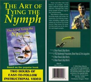The Art of Tying the Nymph Fishing Lures Instructional Video VHS - (Easy to Foll
