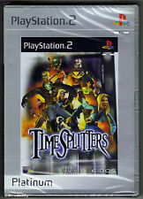 PS2 Timesplitters Platinum, UK Pal, Brand New & Sony Factory Sealed