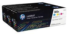 Hewlett Packard HP Tóner Multipaquete CF 370 am C/m/y N º 305a