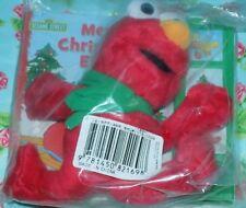 Sesame Street Christmas Elmo Play A Sound Book and 9 Inch Plush Set NEW