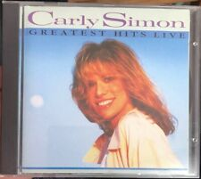 Carly Simon - Greatest Hits Live (Live Recording, 1995) CD - VGC - FREE UK P+P