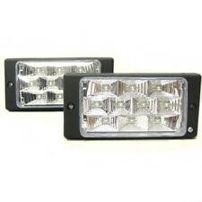 2 x 10 LED Fog Spot Lights 12V White Light For VW Volkswagen Golf Passat Polo