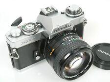 Minolta XD7 mit MD ROKKOR 1,2/50mm 1:1,2 50 mm
