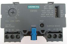 SIEMENS ESP200 OVERLOAD RELAY CATALOG NO 48ATC3S00 3-12A,600VAC, 3 PHASE