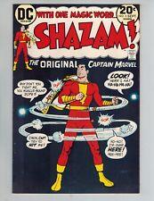 Shazam! #5  The Original Captain Marvel vs a Leprechaun from 1973   Nice VF!