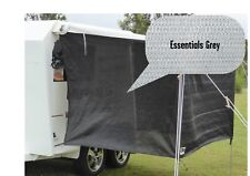 Jayco / Coromal Camper Bagged Bed Flys (both ends) Essentials Grey