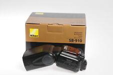 Nikon SB-910 Speedlight Shoe Mount Flash SB910 #846