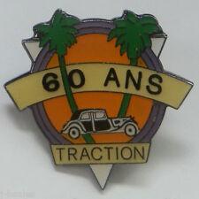 CITROEN TRACTION AVANT 60TH ANNIVERSARY PIN BADGE 7CV 11CV 15CV 7 11 15 CV