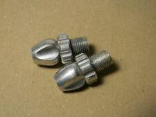 2x Bremsstellschraube Schraube STELLSCHRAUBE Bremshebel 10mm M10 Alu silber
