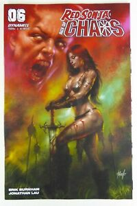 RED SONJA: AGE OF CHAOS (2020) #6 PARRILLO VARIANT Cover NM- Ships FREE!