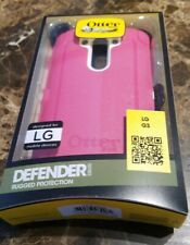NEW OtterBox Defender Series Case with Holster for LG G3 Pink