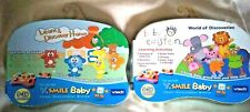 2 x VTech V.Smile Baby Games Learn & Discover Home And Baby Einstein - Brand New