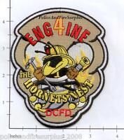 Washington DC - Engine 4 District of Columbia Fire Dept Patch - The Hornets Nest