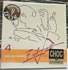 ACCORD 4-CD Box: Erik Satie, Jean-Joël Barbier – Œuvres Pour Piano, 2002 FRA SS