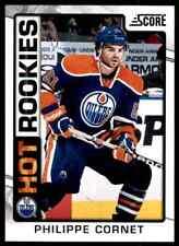 2012-13 Score Hot Rookies Philippe Cornet Rookie #501