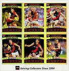 2010 AFL Teamcoach Trading Card Gold Parallel Team Set Essendon (12)