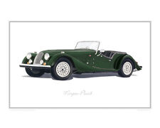 Morgan Plus 8 - Limited Edition Classic Car Print Poster by Steve Dunn