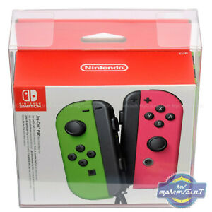 Switch BOX PROTECTOR for Nintendo Joy Cons Strong 0.5mm PLASTIC DISPLAY CASE x 1